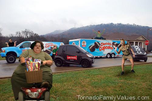 little debbie tornado family values