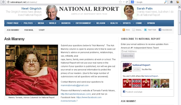 national report mammy