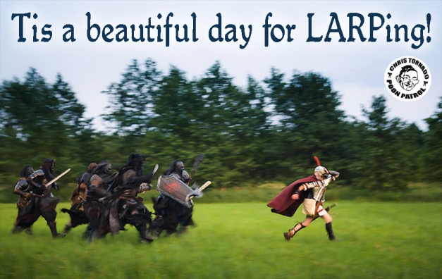 chris tornado larping