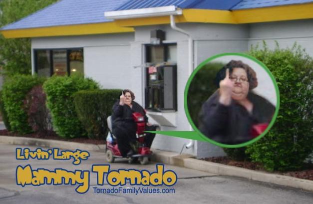 Mammy Tornado Burger Queen