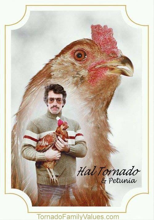 Hal Tornado chicken