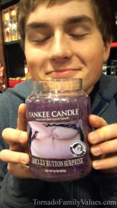 YANKEE CANDLE BELLYBUTTON
