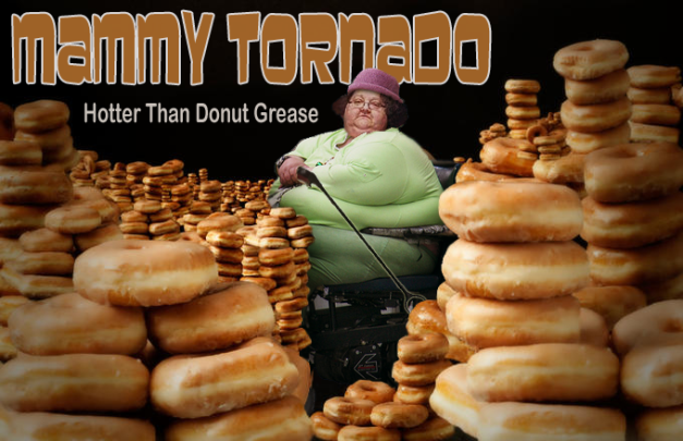 mammy tornado donut grease