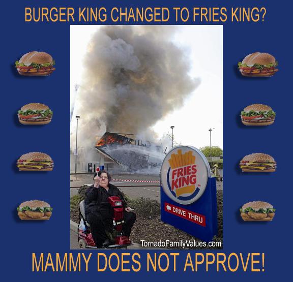 BURGER KING FRIES KING