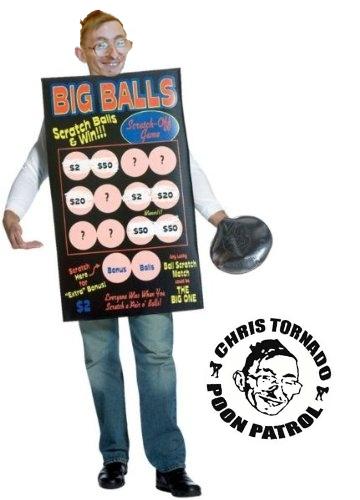 costume big balls