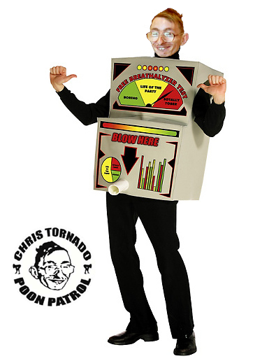 costume breathalyzer