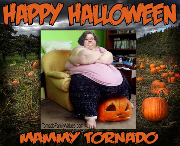 Mammy Tornado Halloween pumpkin