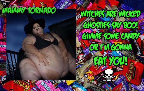 Mammy Tornado Halloween Witch