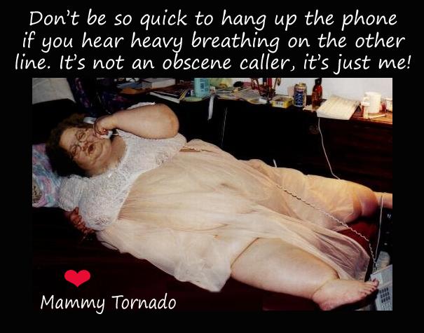 obscene caller