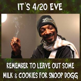 420 snoop dogg milk and cookies
