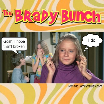 brady bunch marcia football jan hate
