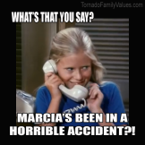 JAN BRADY ACCIDENT MEME