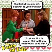 jo-blair-facts-of-life-christmas-natalie-tootie-mrs-g-dildo