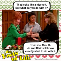 jo-blair-facts-of-life-christmas-natalie-tootie-mrs-g-dildo