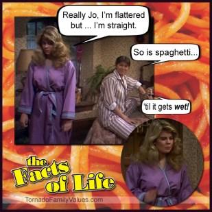 jo blair facts of life lesbian gay straight spaghetti wet