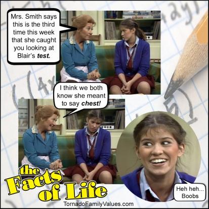 jo blair facts of life looking at boobs
