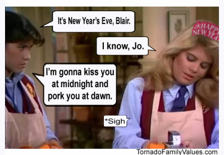 Jo Blair Facts of LIfe New Years Eve