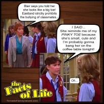 jo blair facts of life pinky toe bang lesbians gay