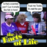 JO BLAIR FACTS OF LIFE SMELLS LIKE FISH