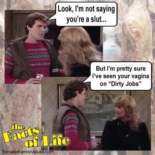 jo blair facts of life vagina dirty jobs