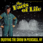 JO FACTS OF LIFE SNOW IN PEEKSKILL