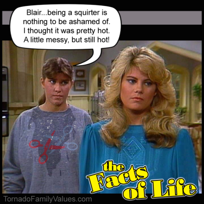 jo polniaczek blair warner facts of life squirter