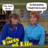 natalie mrs garrett facts of life stinky feet pussy
