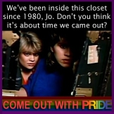 PRIDE JO BLAIR COME OUT GAY LESBIAN FACTS OF LIFE