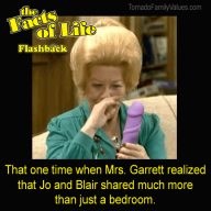 Mrs Garrett Jo Blair Facts of Life Dildo