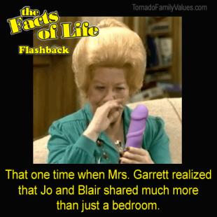 Mrs Garrett Jo Blair Facts of Life Dildo