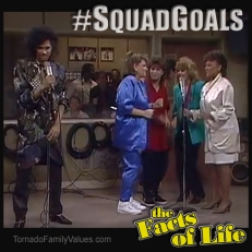SQUAD GOALS Facts of Life Jo Blair