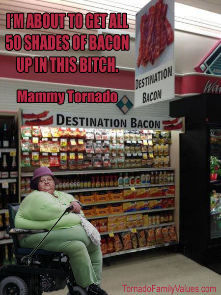 50 shades of bacon