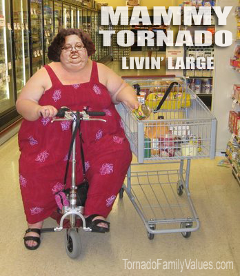 mammy tornado living large