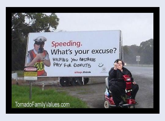 speeding mammy