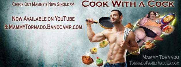 cook with a cock