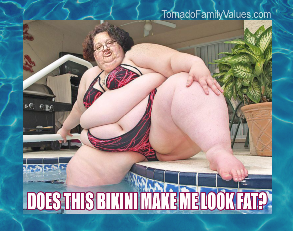 does this bikini make me look fat