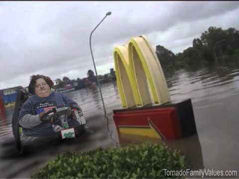 mcdonalds flood mammy tornado