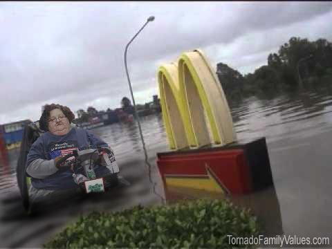 mcdonalds flood mammy tornado