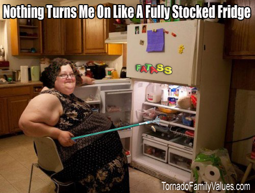 fully stocked fridge