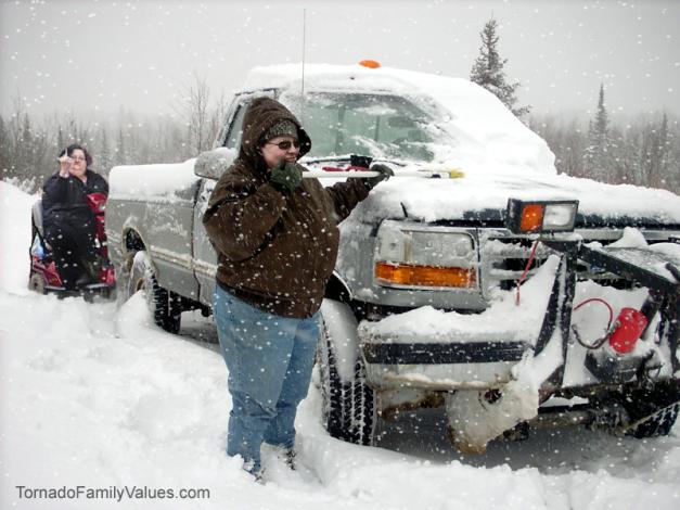 tammy blizzard truck