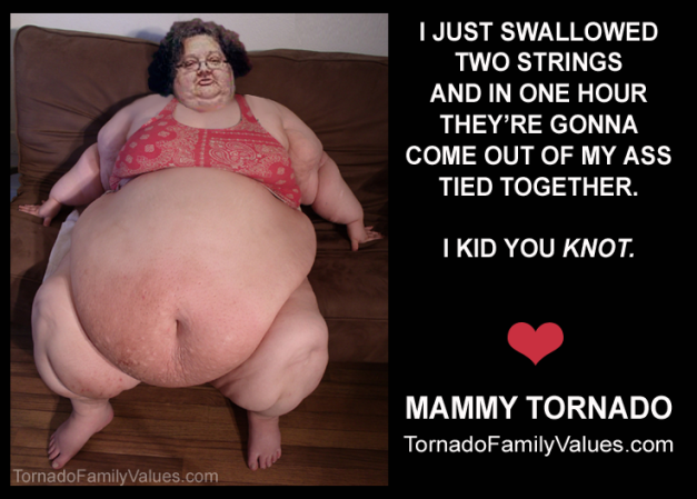 kid you knot mammy tornado