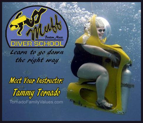 muff diver school
