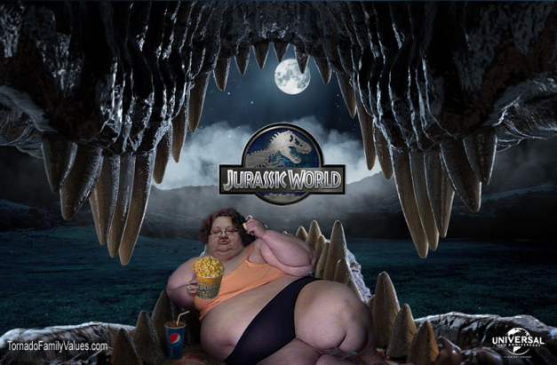 jurassic world mammy tornado