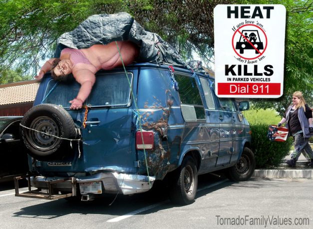 HEAT KILLS WITH MAMMY TORNADO