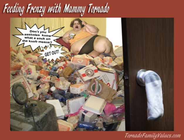 feeding frenzy with Mammy Tornado