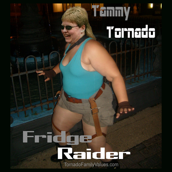 fridge raider tammy tornado