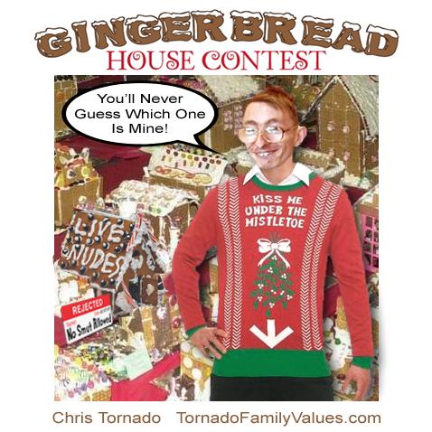 gingerbread house chris tornado