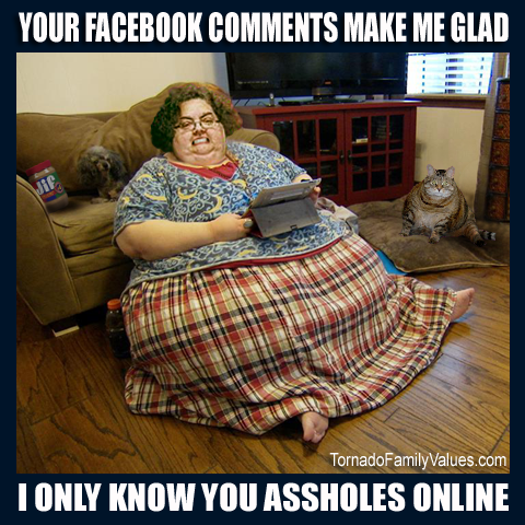 facebook comments know you online mammy tornado