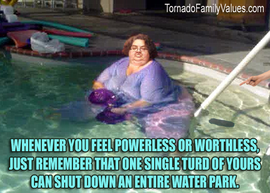 worthless turd mammy tornado