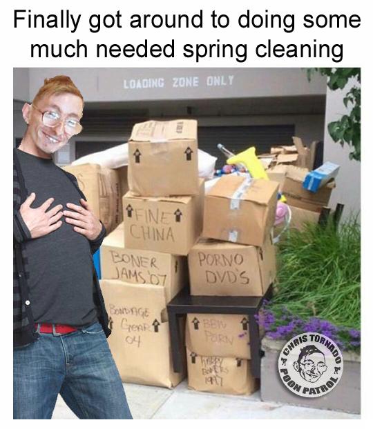 spring cleaning chris tornado porn